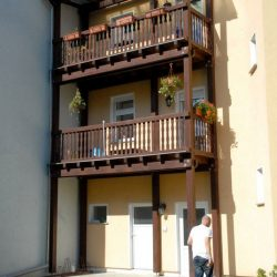 Balkon vom dachdecker