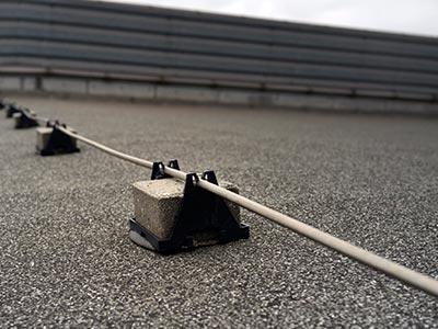 Blitzschutz Cottbus beim Dachdecker